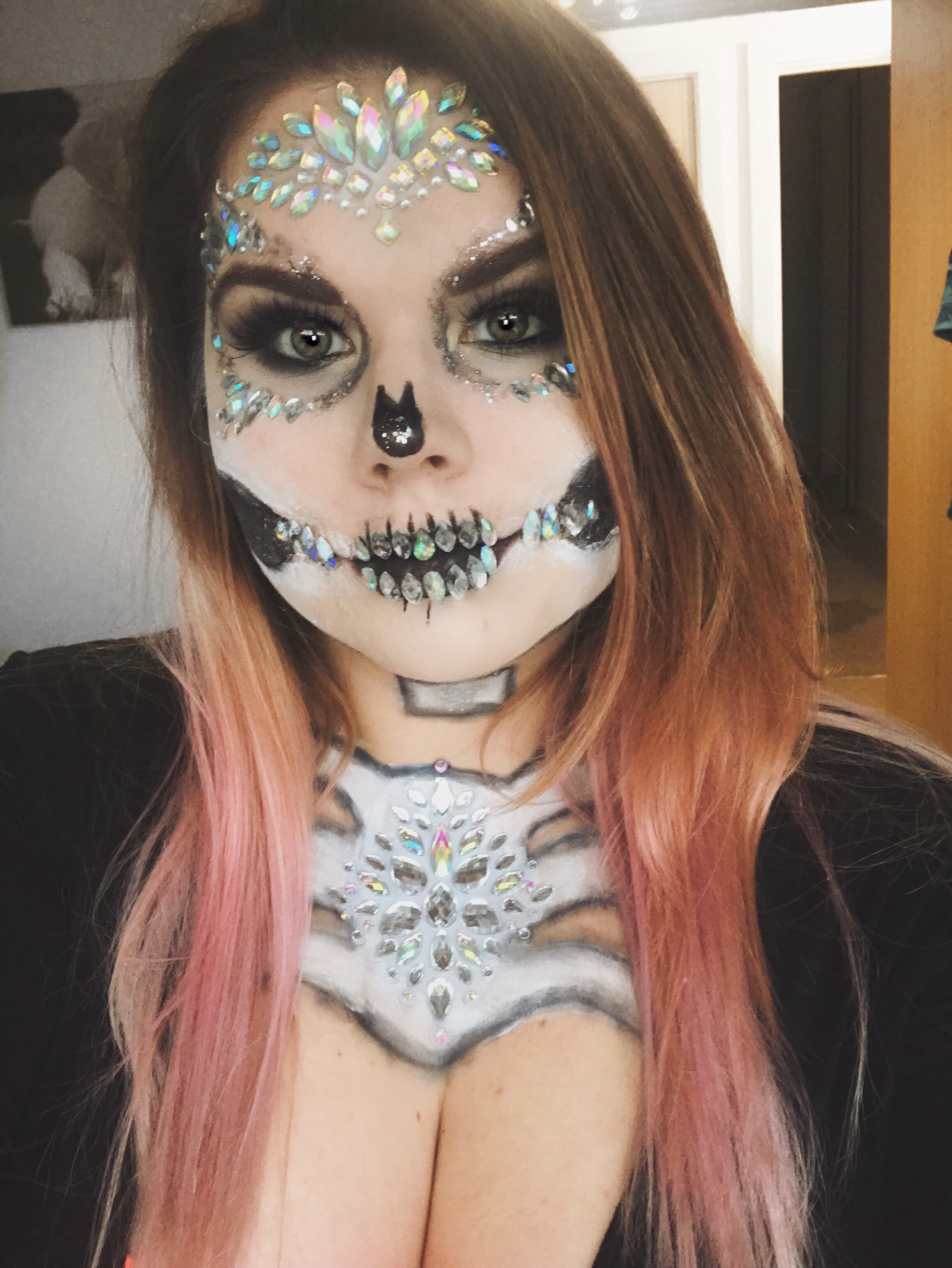 Our Halloween Makeup 2018